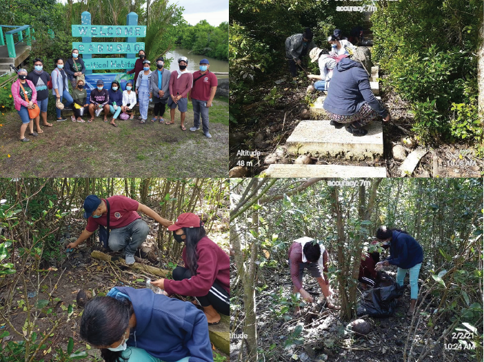 Sipocot CENRO, CBSUA conduct awareness campaign, Clean-up drive in Cabusao