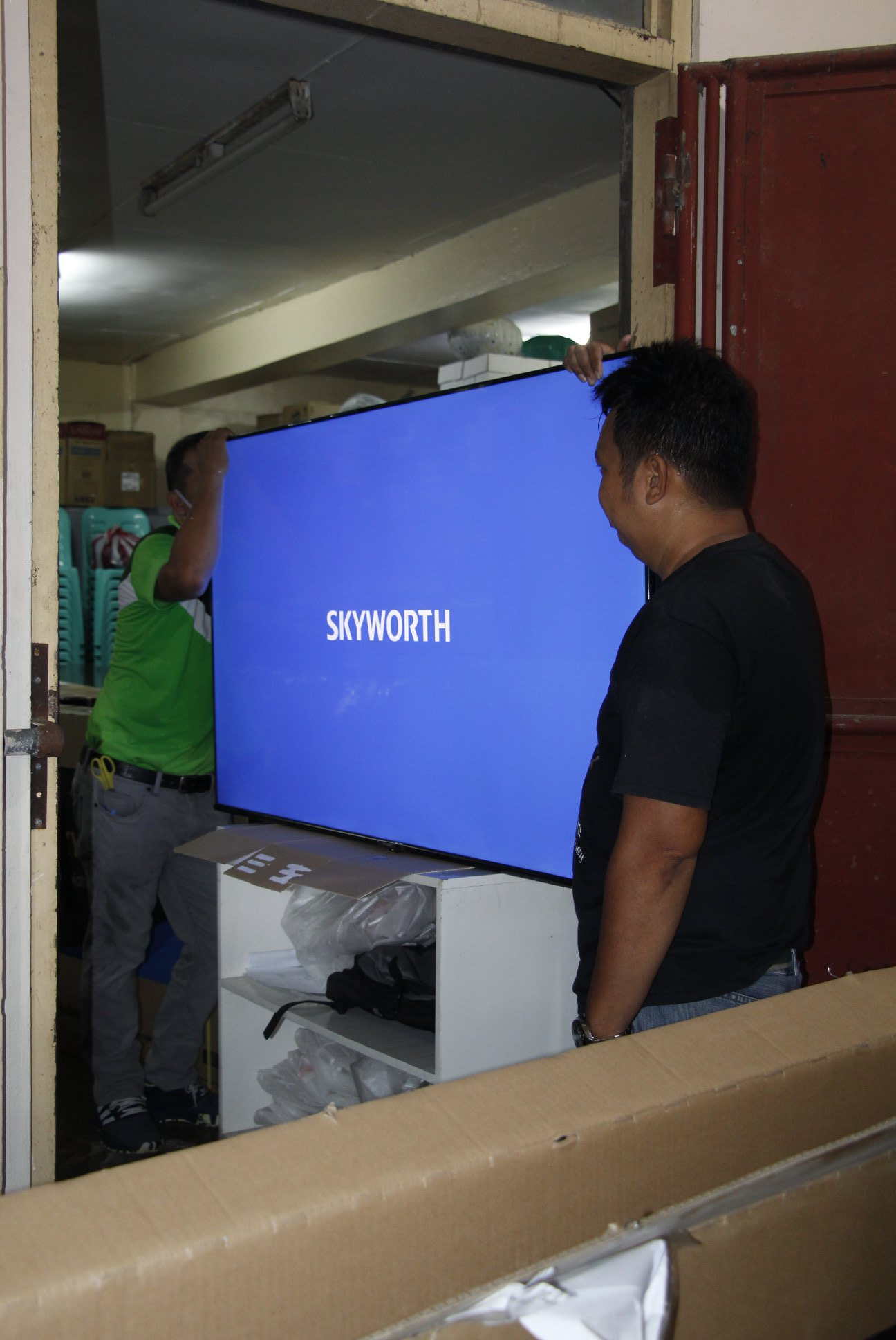 SUPPORT TO  FLEXIBLE LEARNING, CBSUA  PROVIDES  TV SETS
