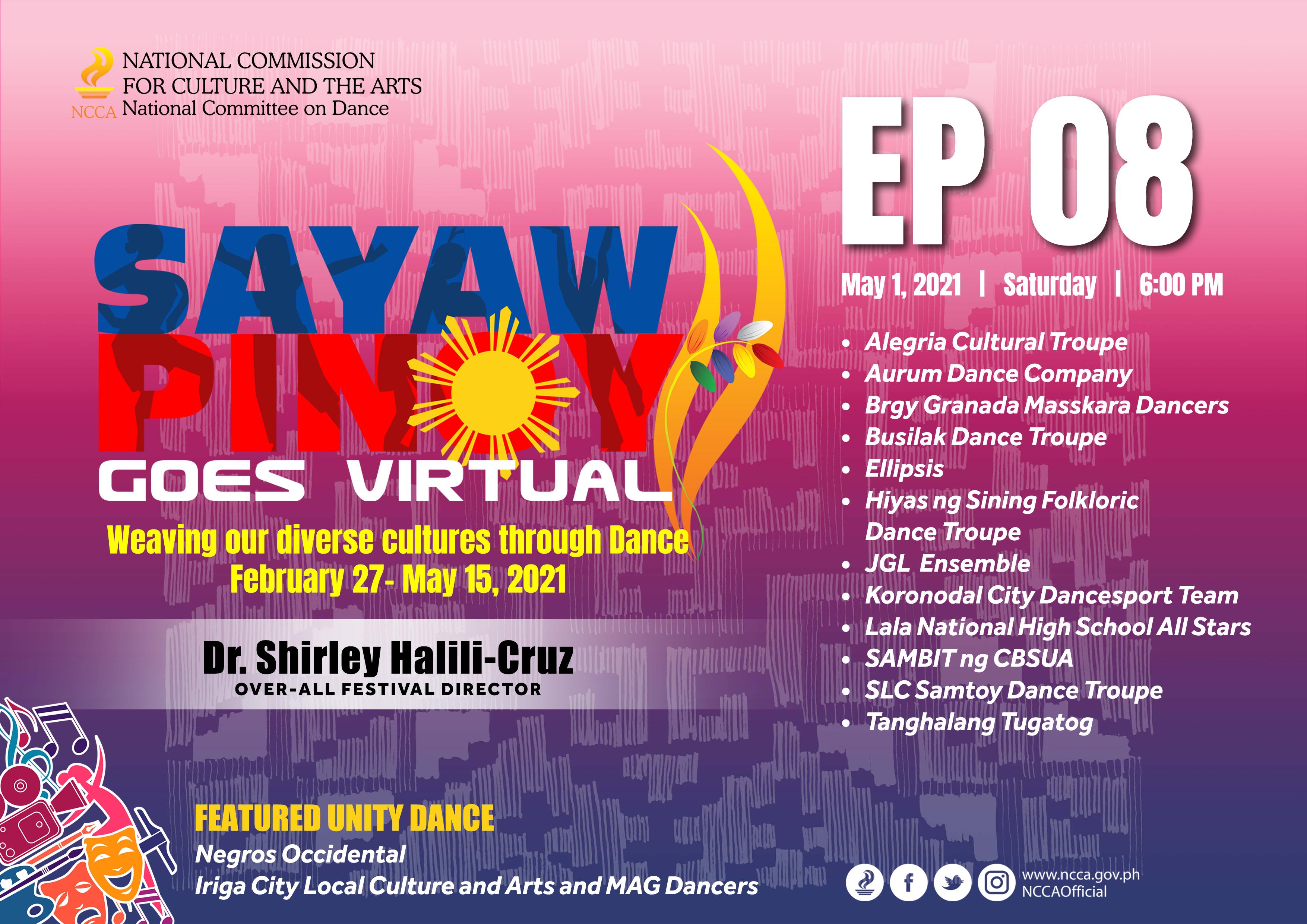 SAMBIT- CBSUA Calabanga, chosen for Sayaw Pinoy Goes Virtual